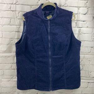 AE sport corduroy vest